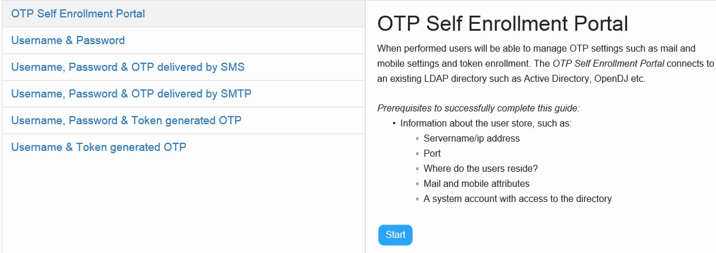 Step by Step – Configure OTP Self Enrollment Portal – PhenixID Support