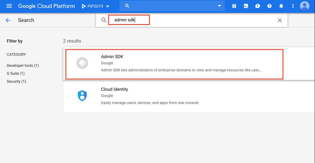 PSD1195 – Google Apps Service Account Configuration